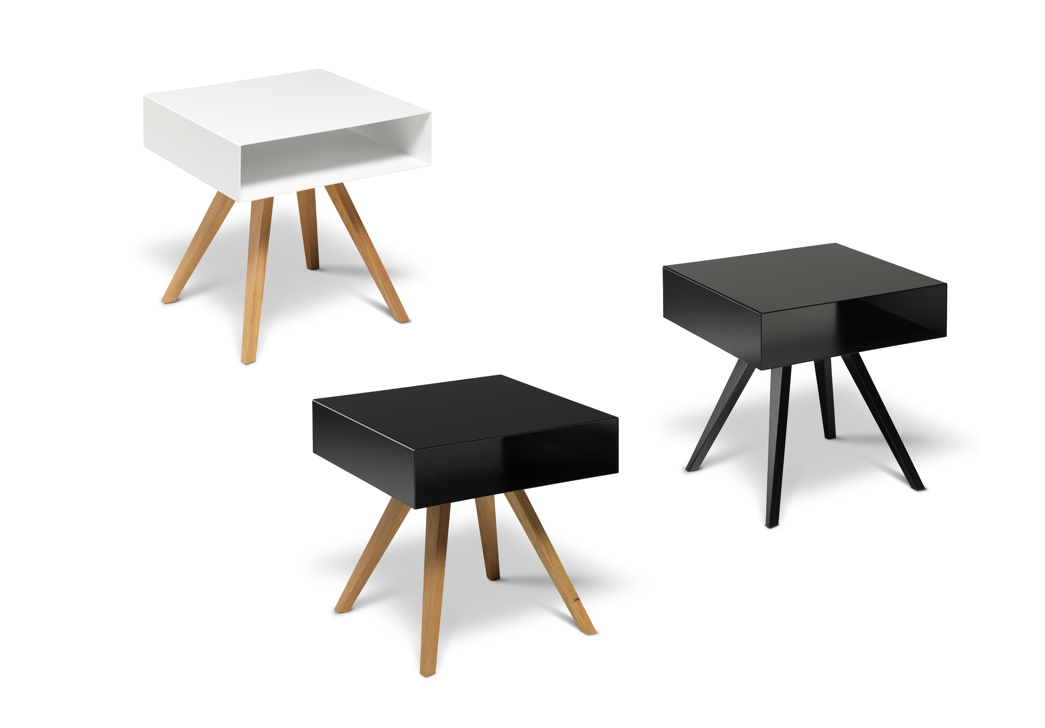 Smalle Sidetable 25 Cm.Side Table Cubo Small