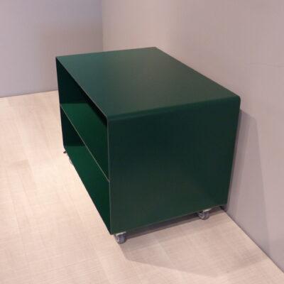 müller Outlet R103N Rollwagen Beistelltisch grün