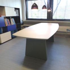 müller outlet M15 Workspace Konferenztisch Esstisch grau weißrau