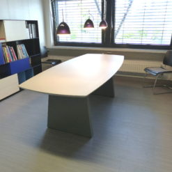 müller outlet M15 Workspace Konferenztisch Esstisch grau weiß