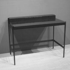 müller metall möbel Outlet PS20 Sekretär schwarz mit Glasarbeitsfläche