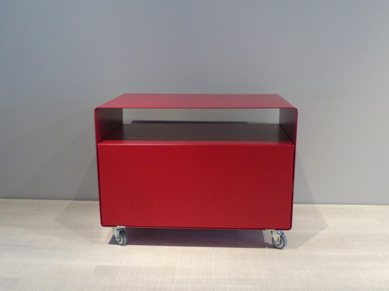 müller Outlet R107N Rollwagen mit Klapptüre rot