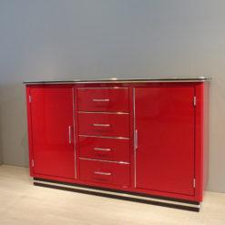 müller Outlet SB123 Sideboard mit Türen und Schubladen rot