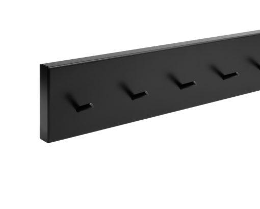 müller RAIL wall wardrobe hook bar black