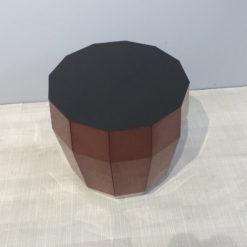 müller MO07 Beistelltisch Hocker kupfer mit schwarz