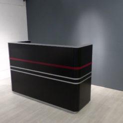 müller Workspace Basistheke schwarz mit LED Beleuchtung
