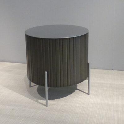 müller outlet TWIST medium Beistelltisch rauch weißaluminium