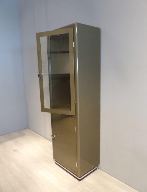 müller outlet Classic Line SB422 Vitrinenschrank Graubeige