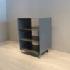 mueller outlet HiFi Rack Regal R600N grau auf Rollen