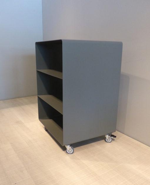 mueller outlet HiFi Rack Regal R600N grau auf Rollen