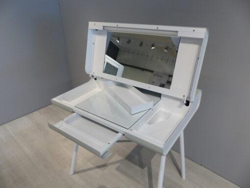 müller metall möbel outlet Schminktisch ST 08 papyrusweiß und signalweiß