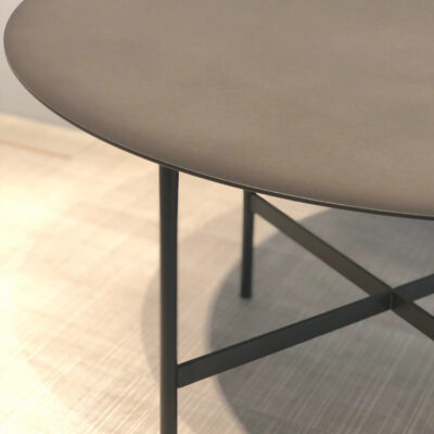 müller metall möbel outlet BETA large Beistelltisch in rauch matt